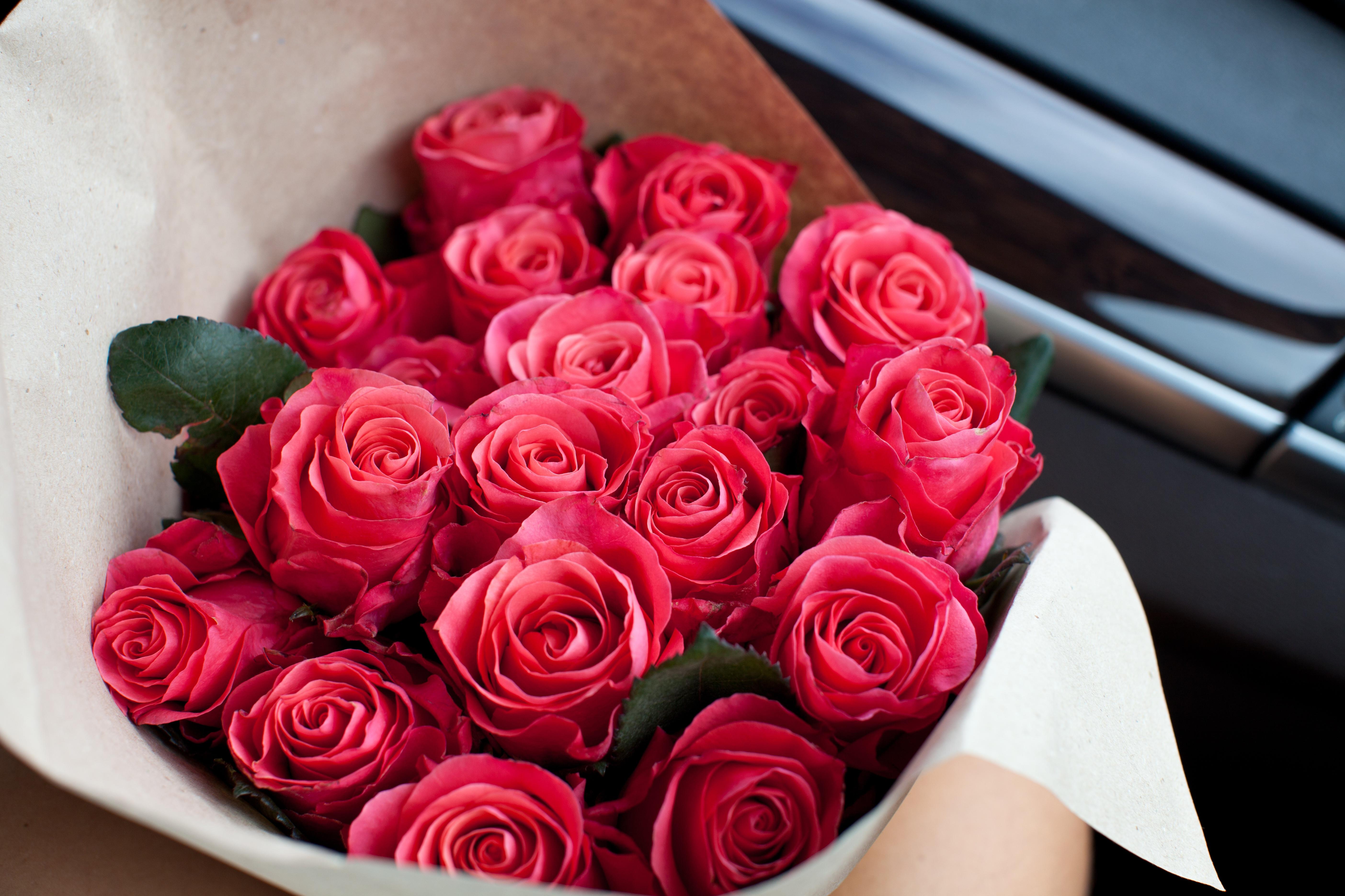 картинка несколько букетов роз в одном начале лета