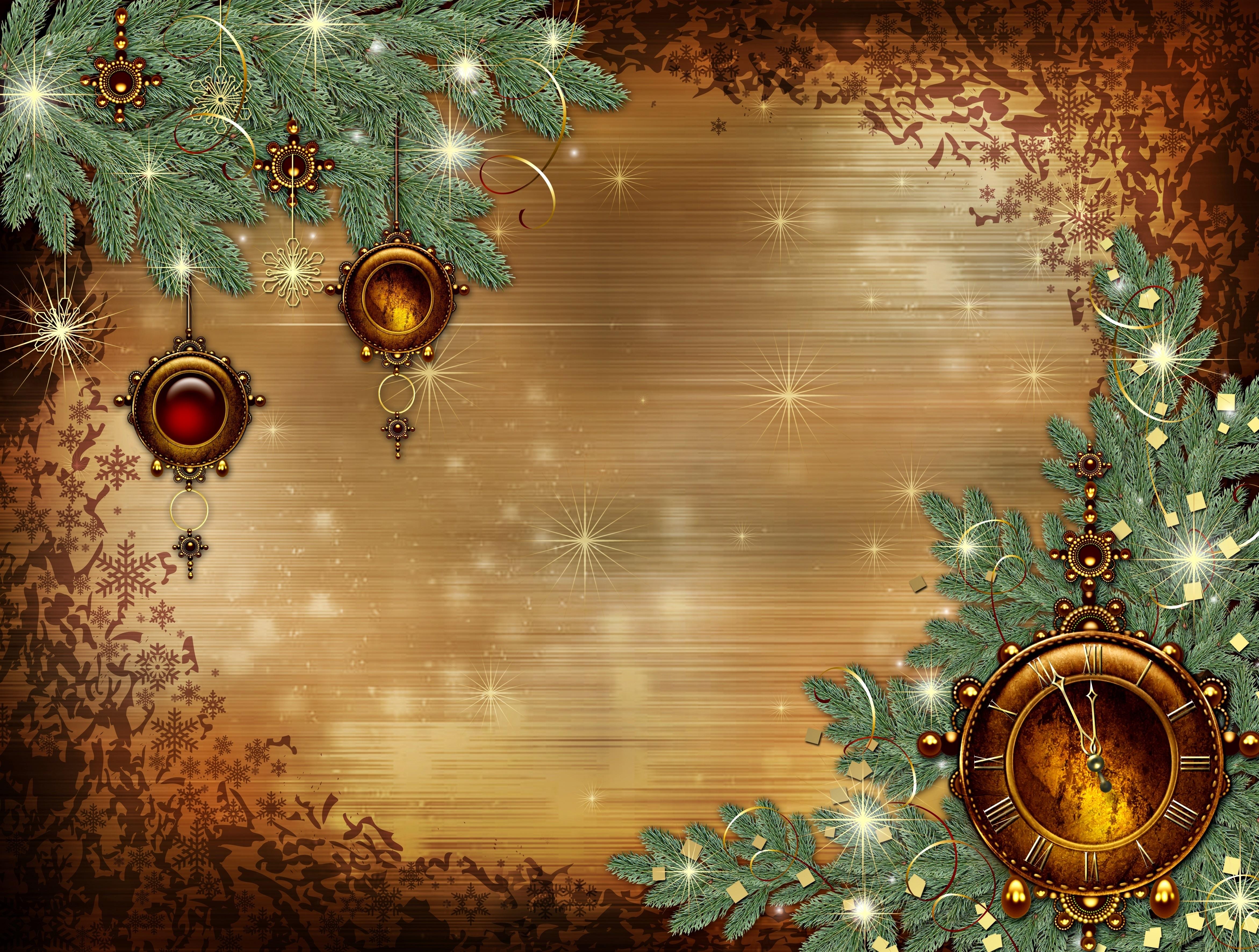 Открытки с новым годом и рождеством шаблоны