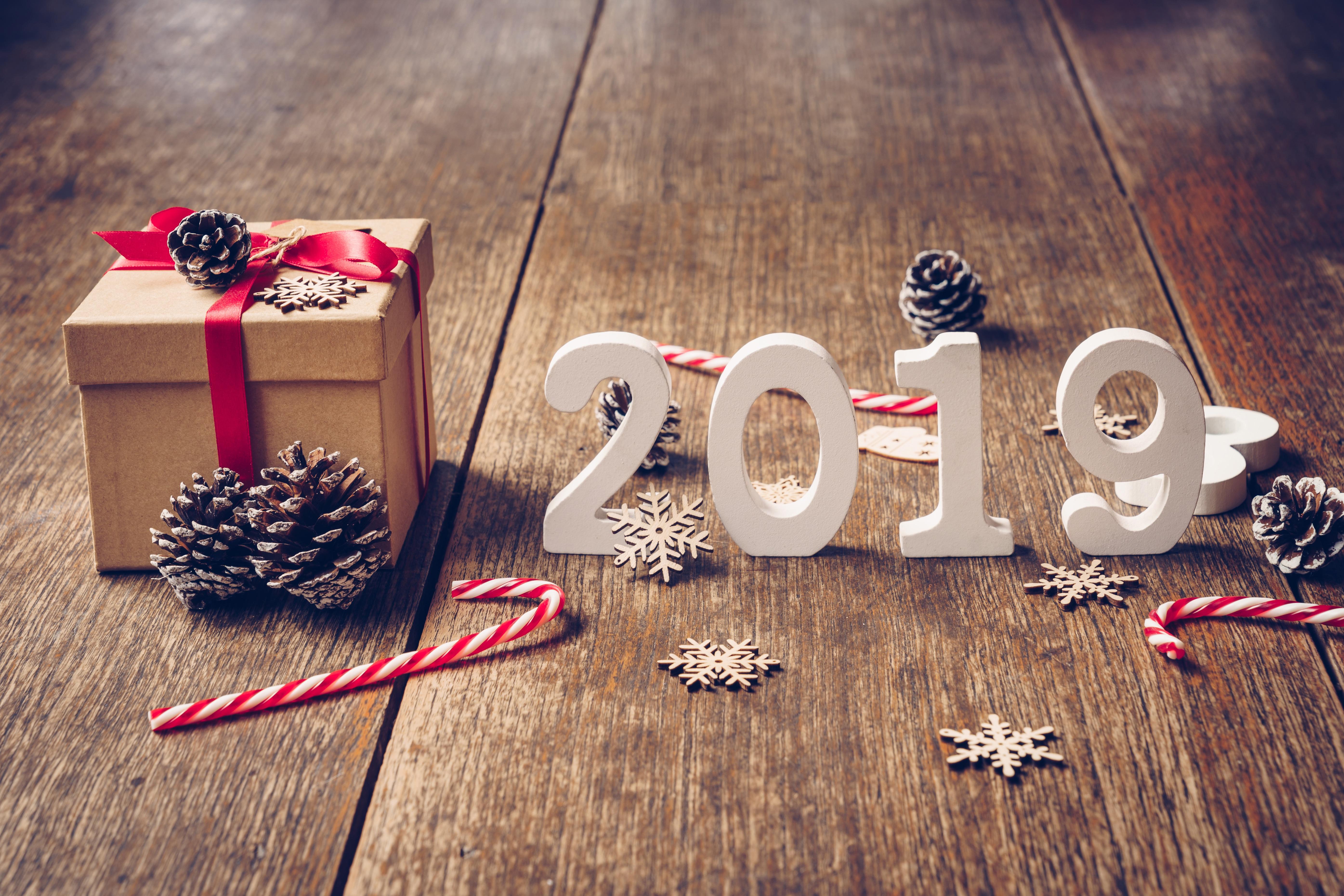 Новогодние картинки для рабочего стола в 2019 году