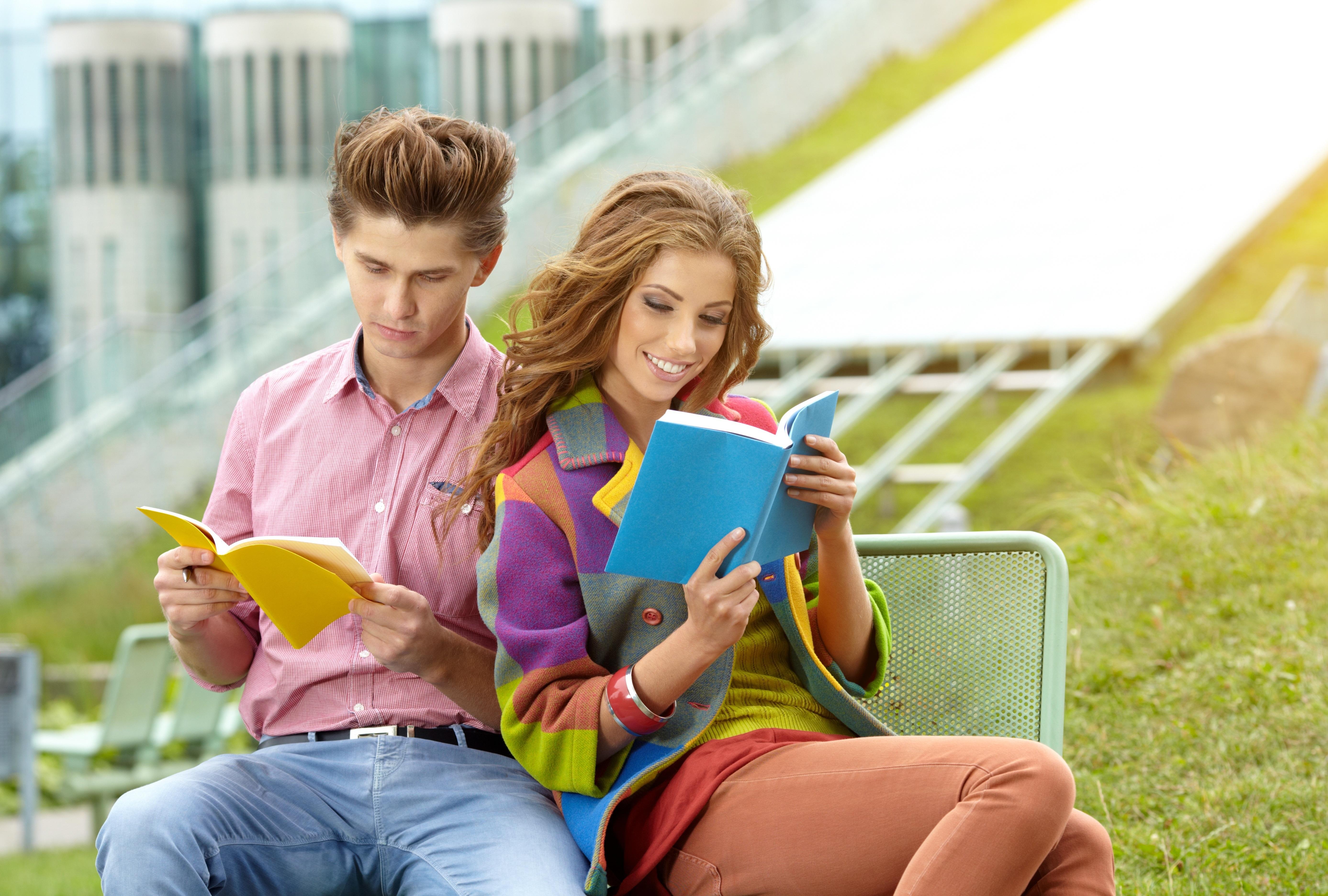 Картинки молодежь и книга