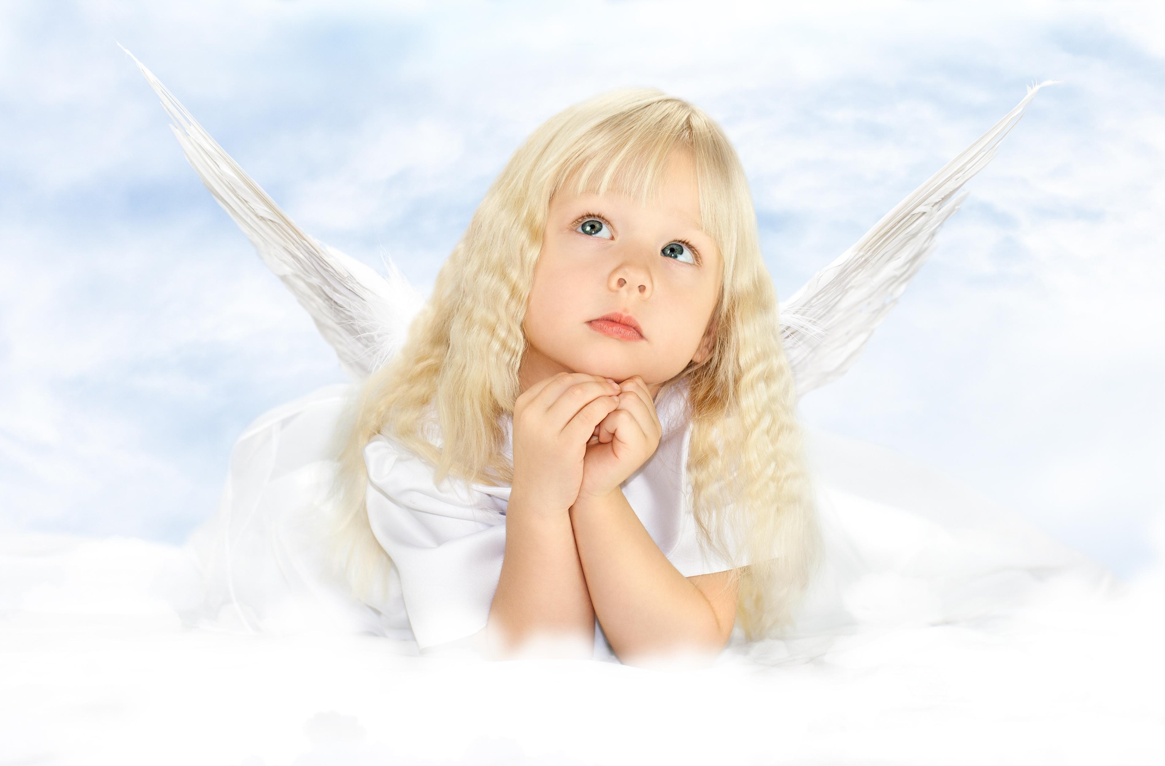 Поздравление вербным, картинки про ангела