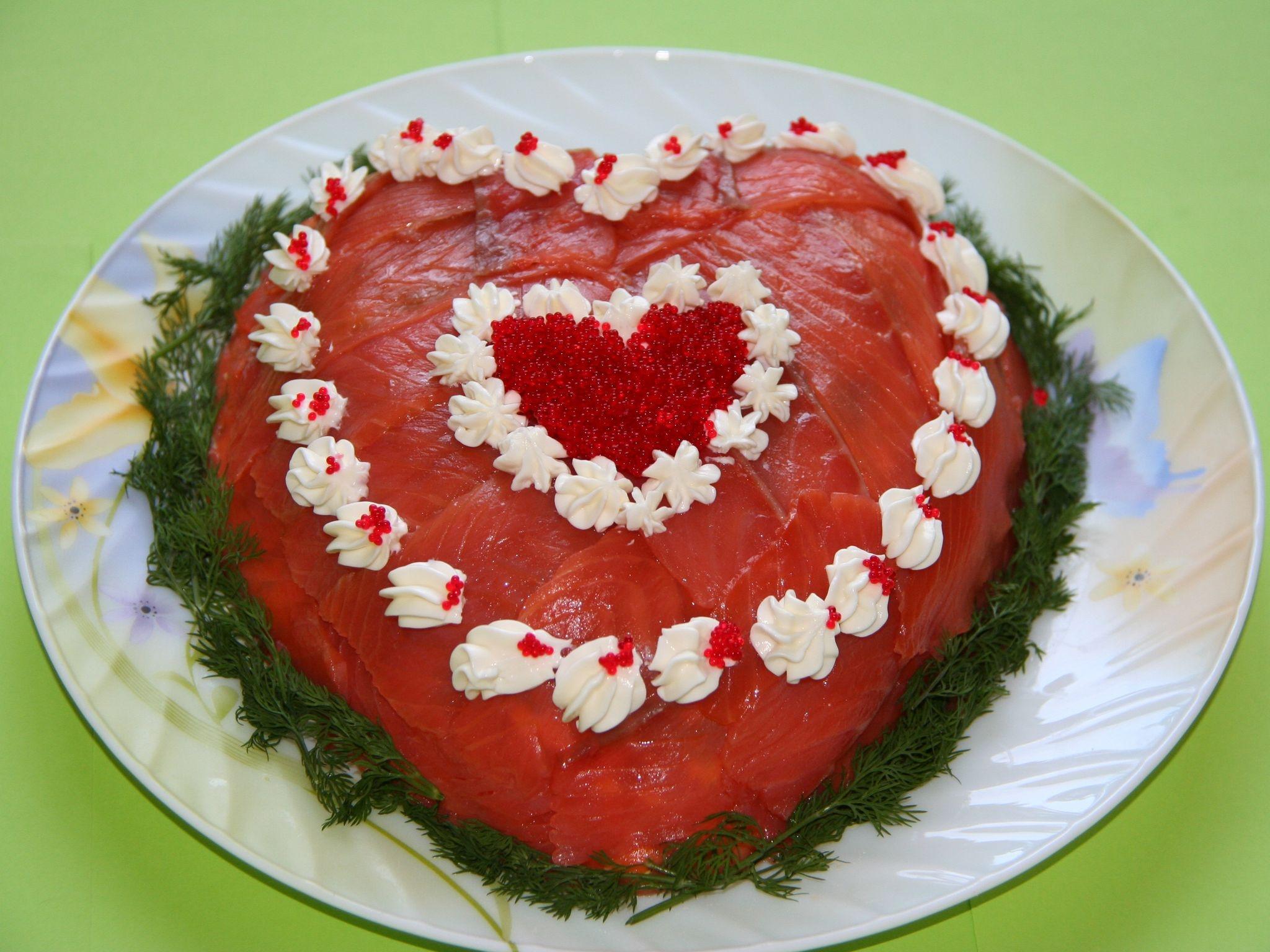 всегда рецепты салатов с фото в виде сердца зрителям хорошо знакомы