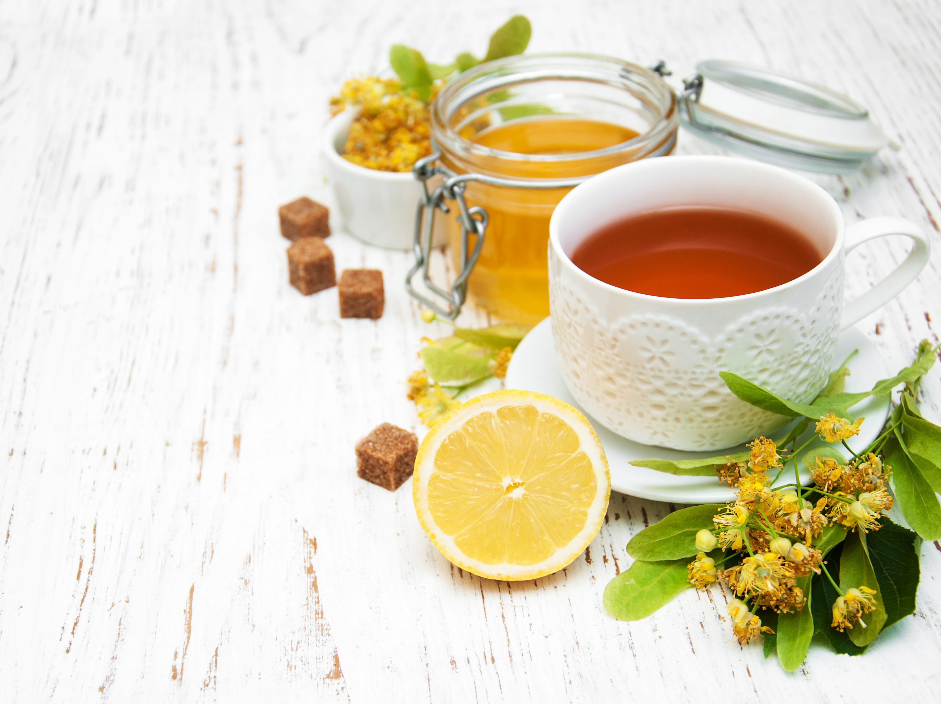Картинки чай с липы с медом