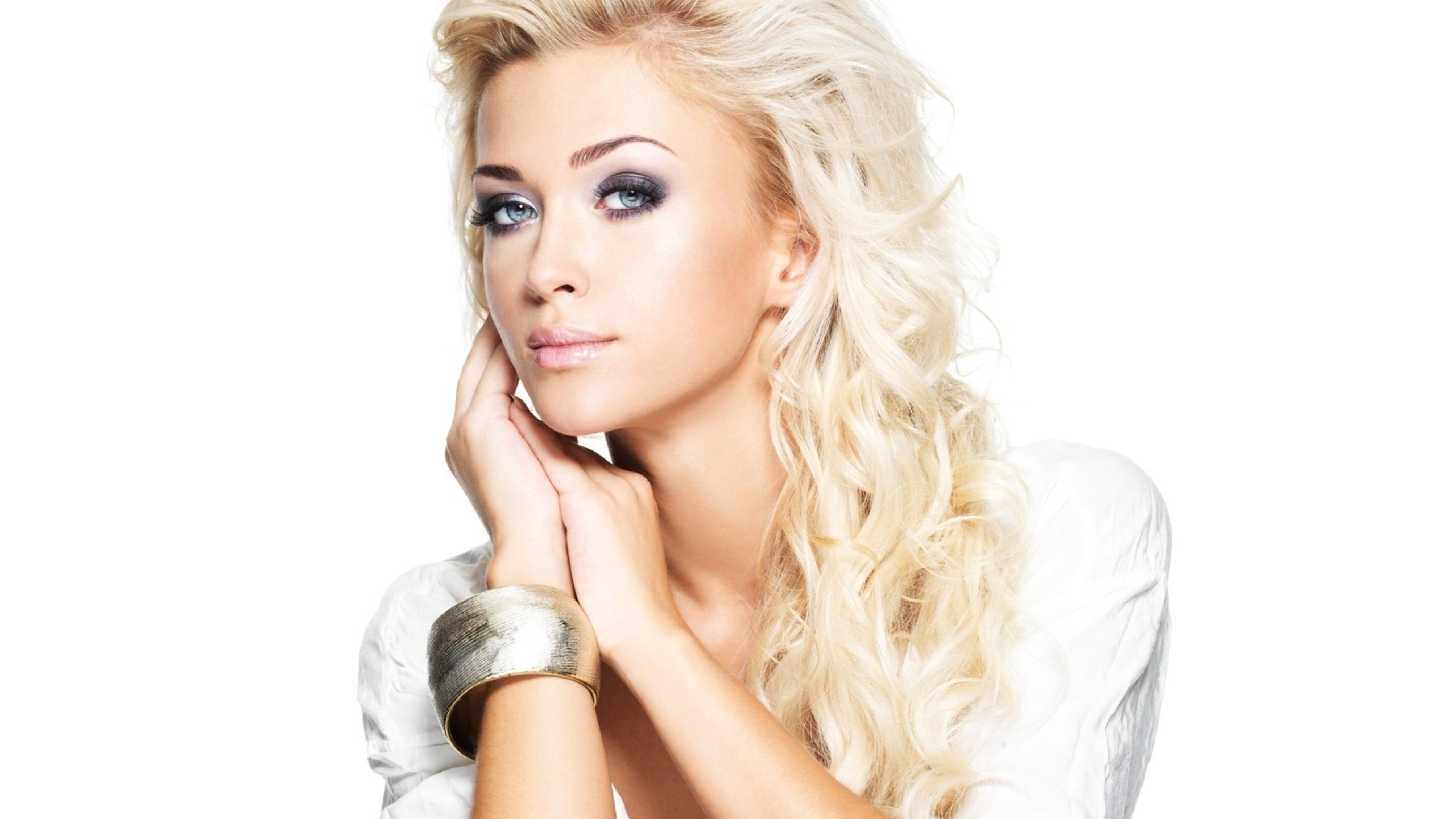 Открытки фото блондинки