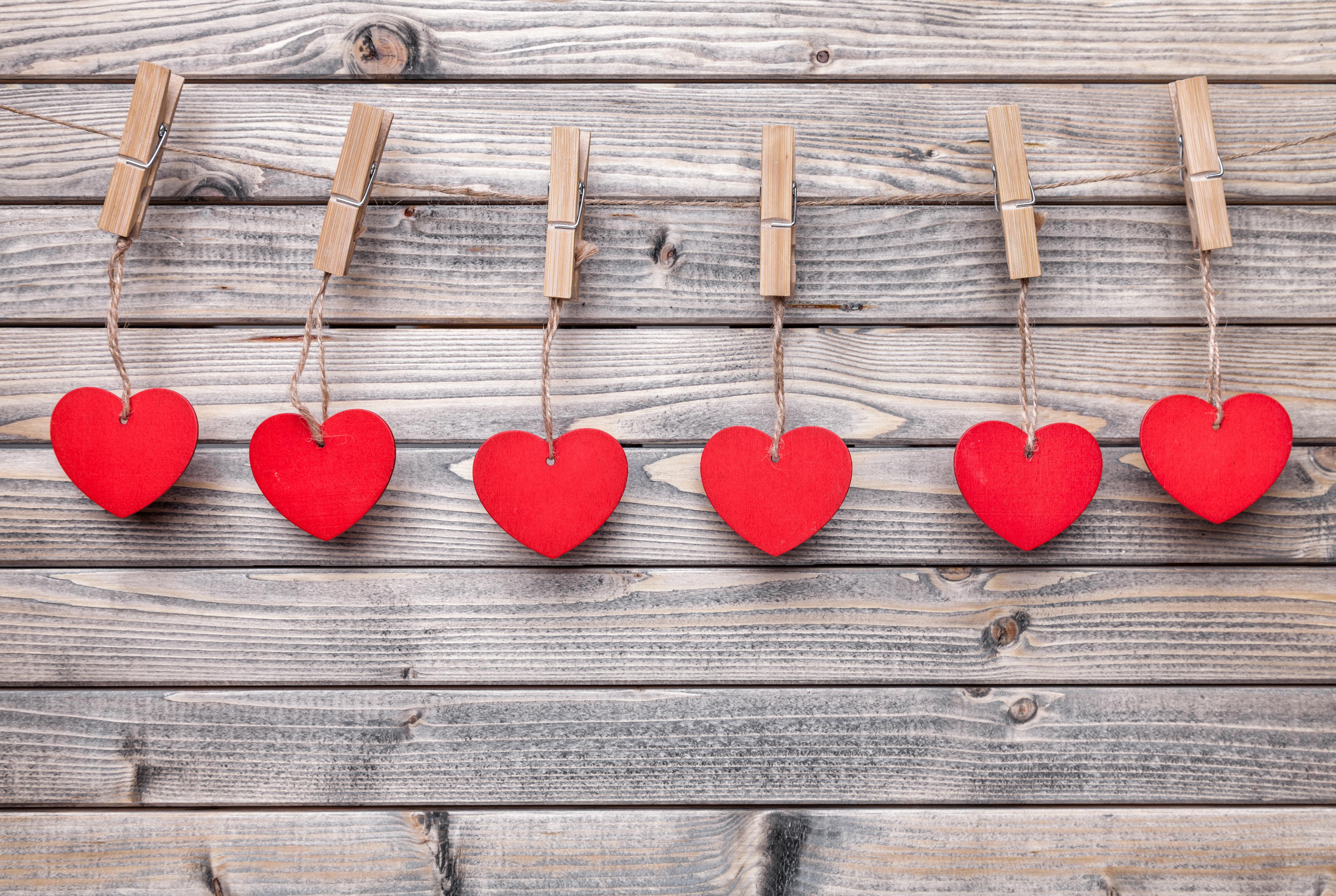 вам понравилось, картинки деревянных сердечек наше время