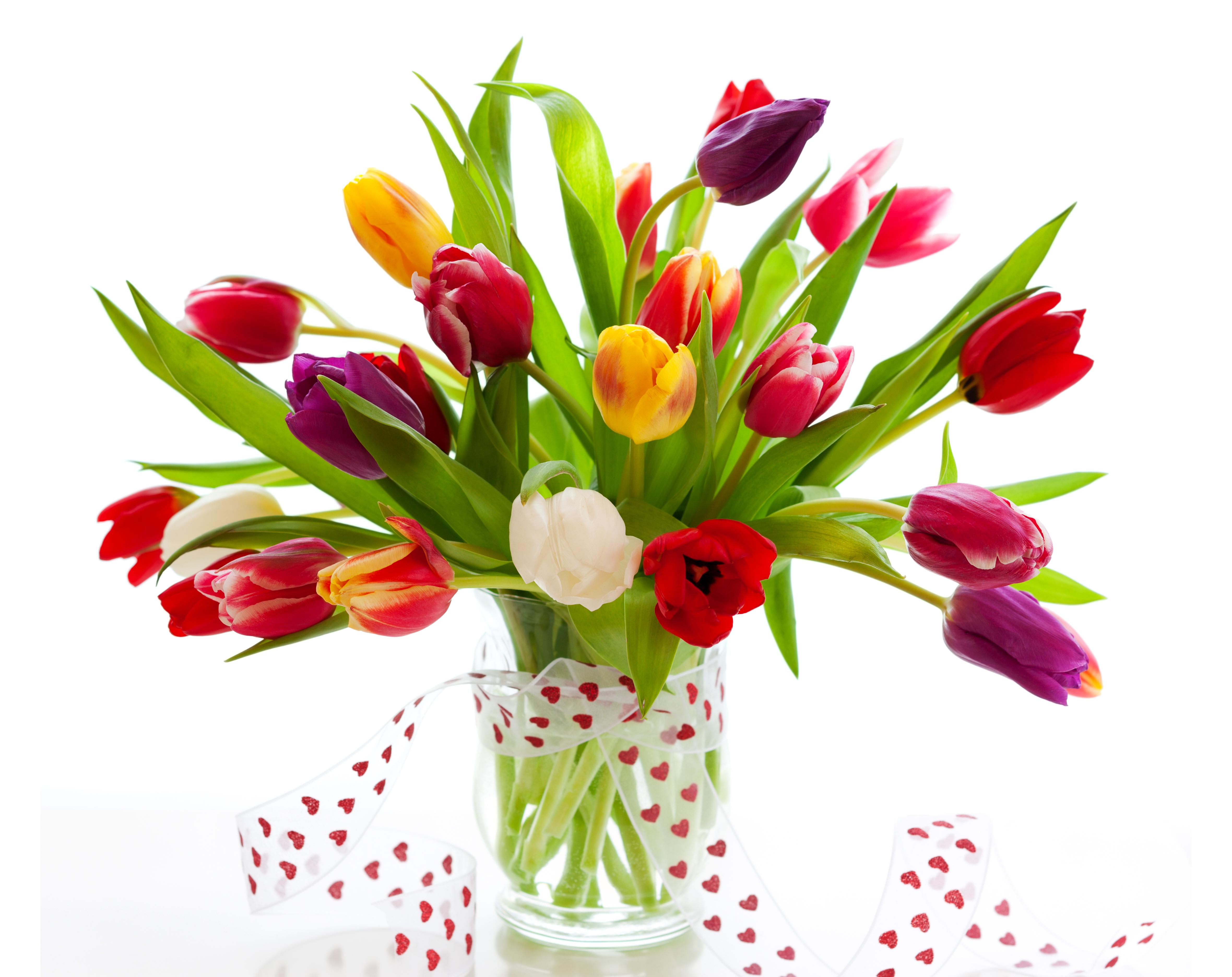 Открытки цветы красивые букеты тюльпанов, картинки