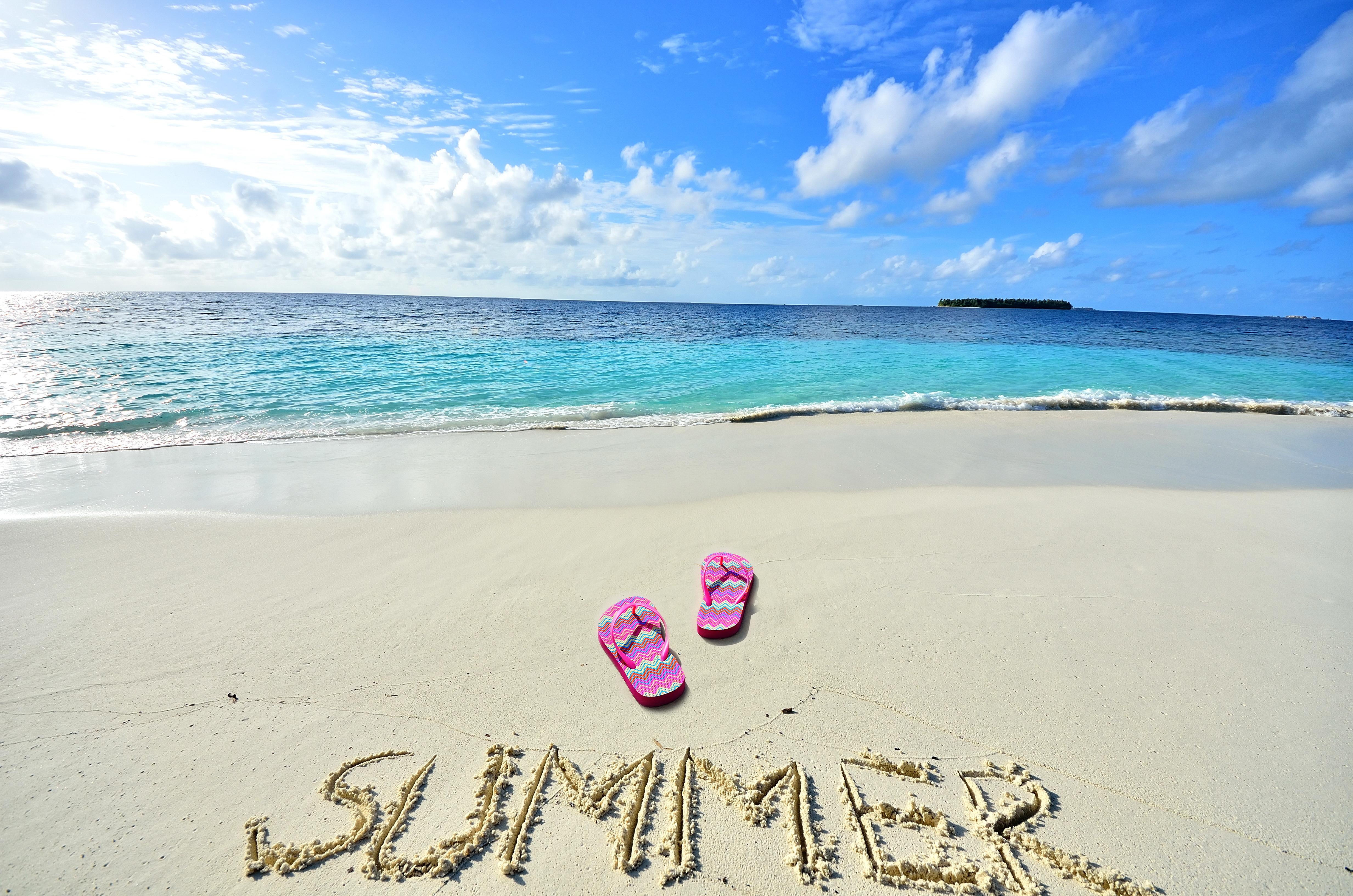 Фотографии про лето с надписями