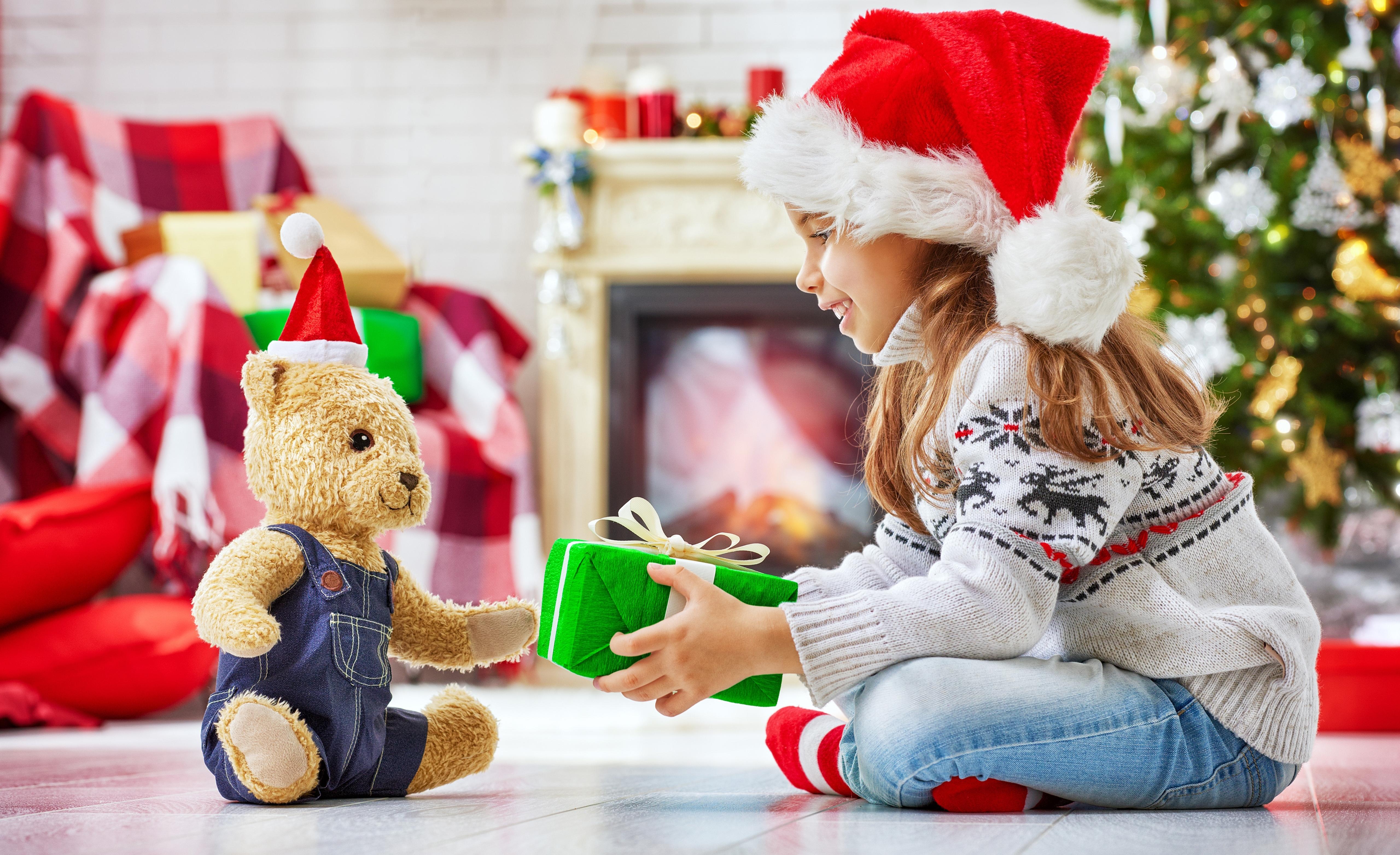 Ребенок и новый год картинки