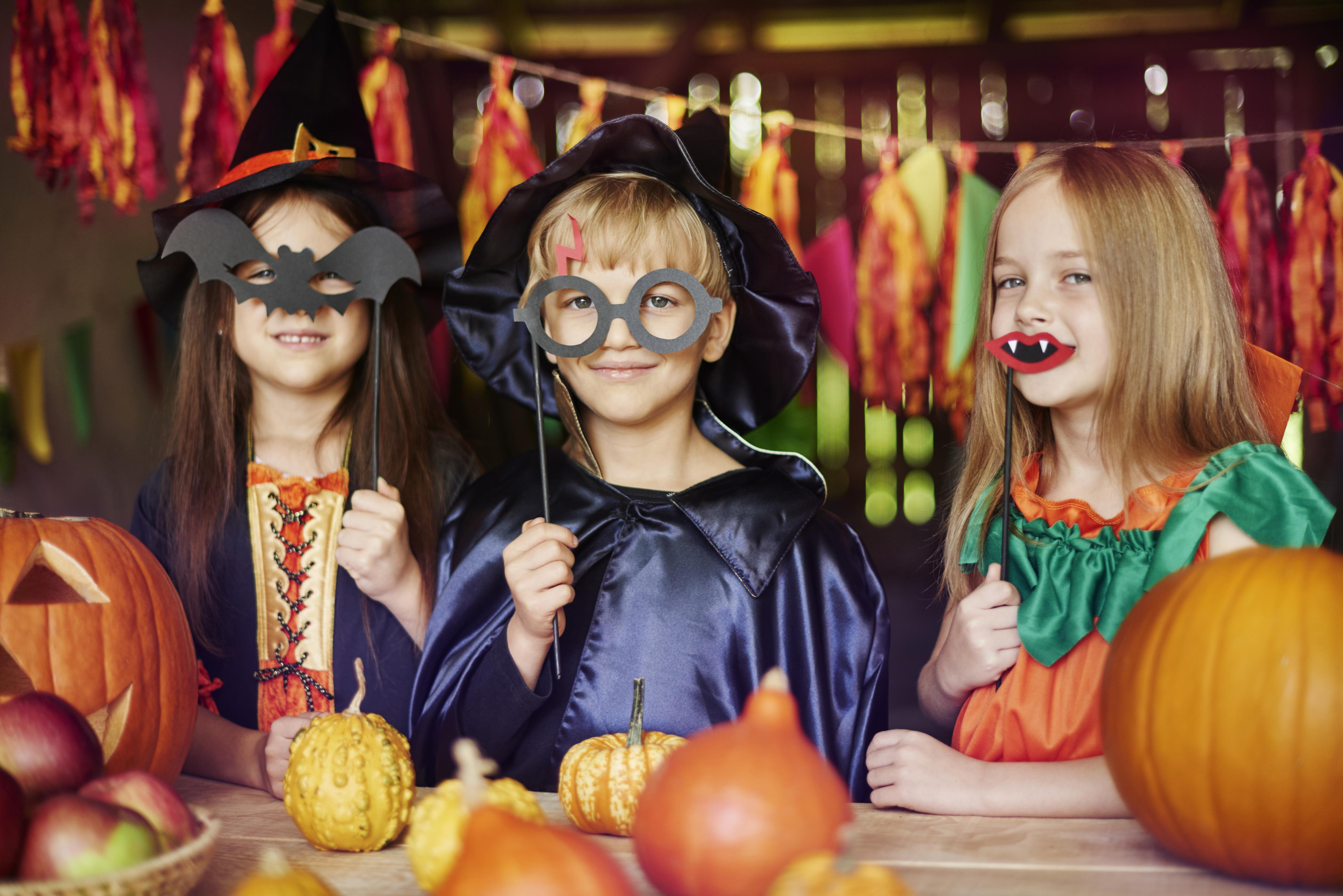 Картинки о хэллоуине детские