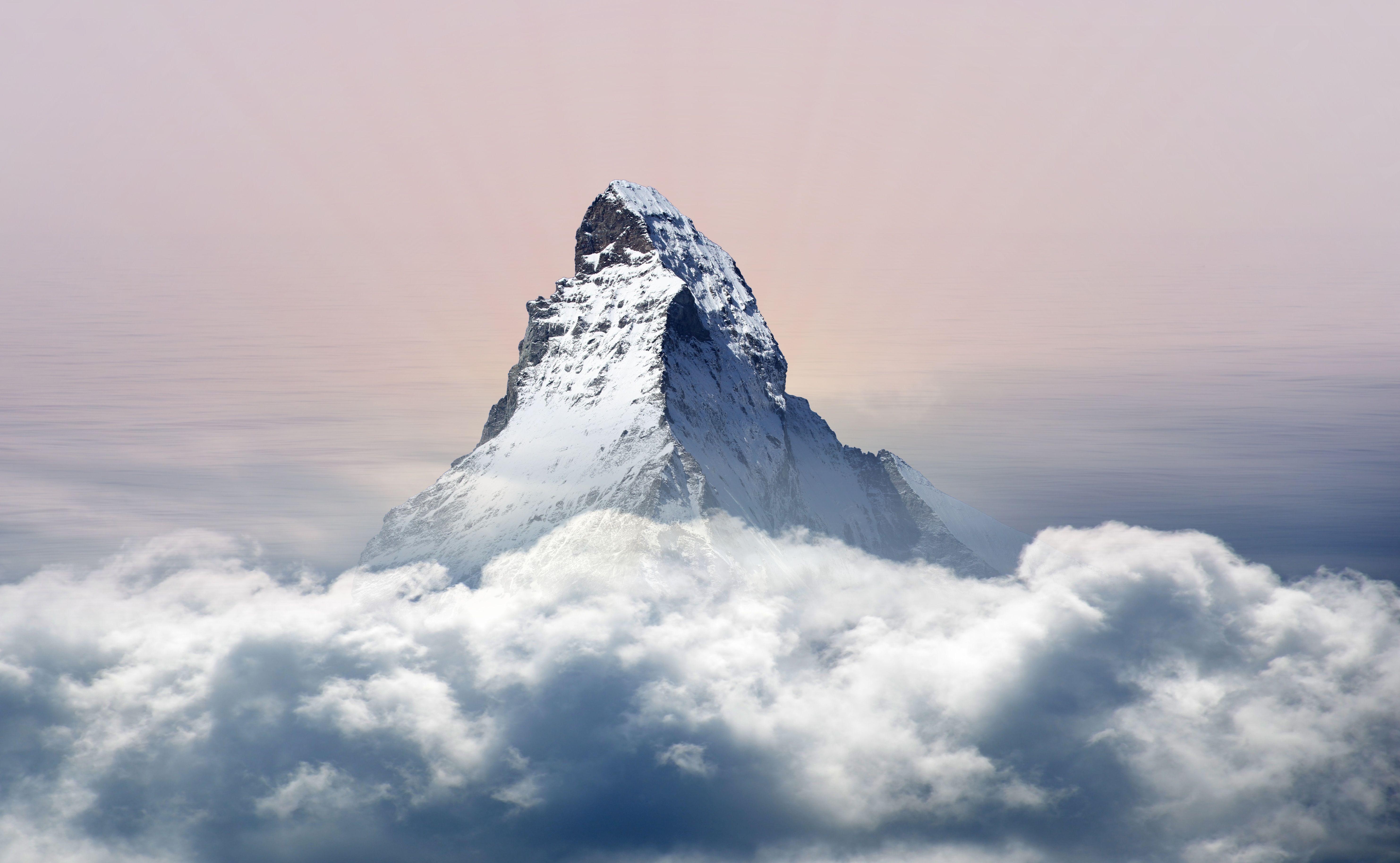 картинка выше облаков в горах паразит