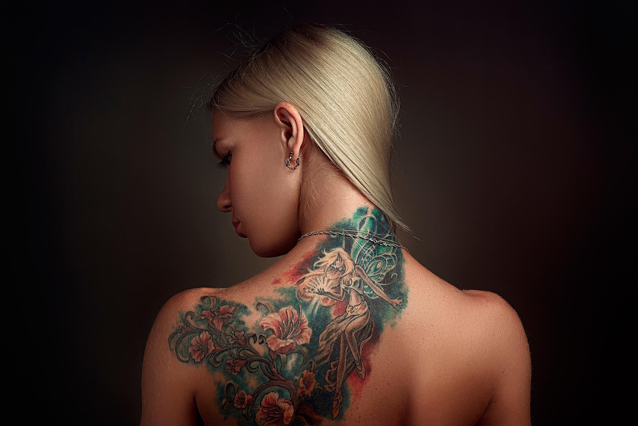 Картинки татуировок у девушек